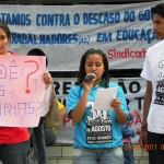 Mobilização do 30 de agosto em Foz do Iguaçu