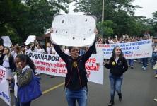 APP/Sindicato participa da Mobilização Estadual dos Servidores Públicos, no dia 21 de outubro (foto: Marcos Labanca).