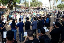 18 DE MAIO mobilização de combate à violência contra crianças e adolescentes (Foto: Renan Ferreira/Rede Proteger).
