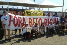 RESISTÊNCIA Beto Richa é pessoa não grata em Foz e região.