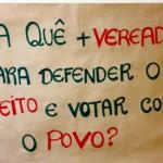 Vitorassi quer aumento de vereadores para defender o prefeito.