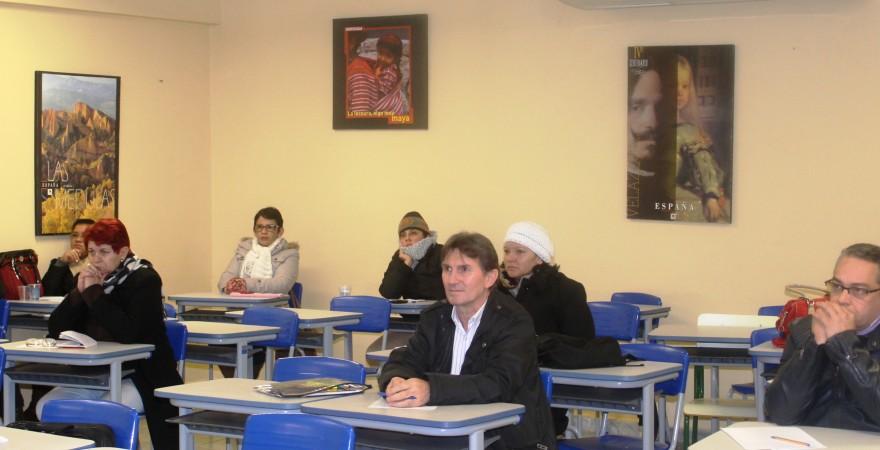 Curso de formação enfatiza participação dos/as agentes na luta sindical