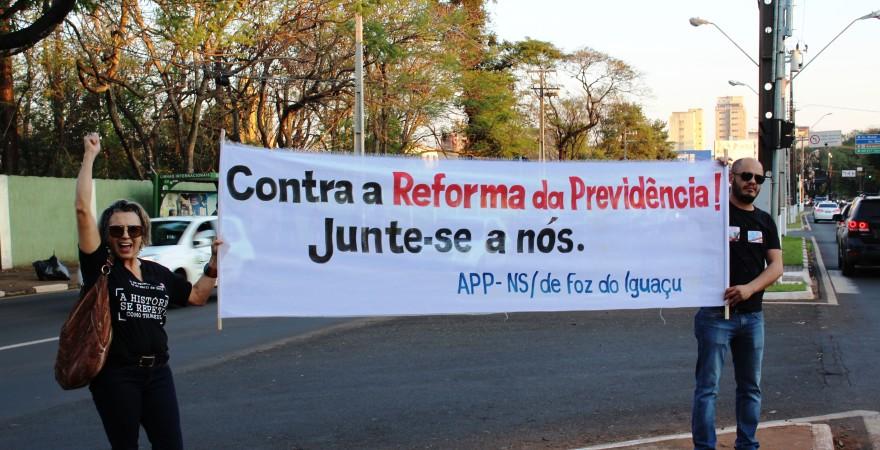 Frente Sindical de Foz do Iguaçu denuncia ataques contra os direitos