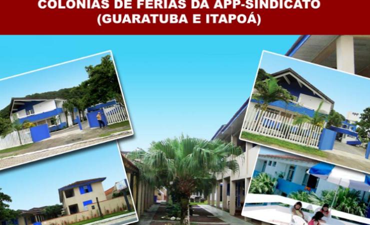 Abertas inscrições para o sorteio à Colônia de Praia em Itaipoá e Guaratuba