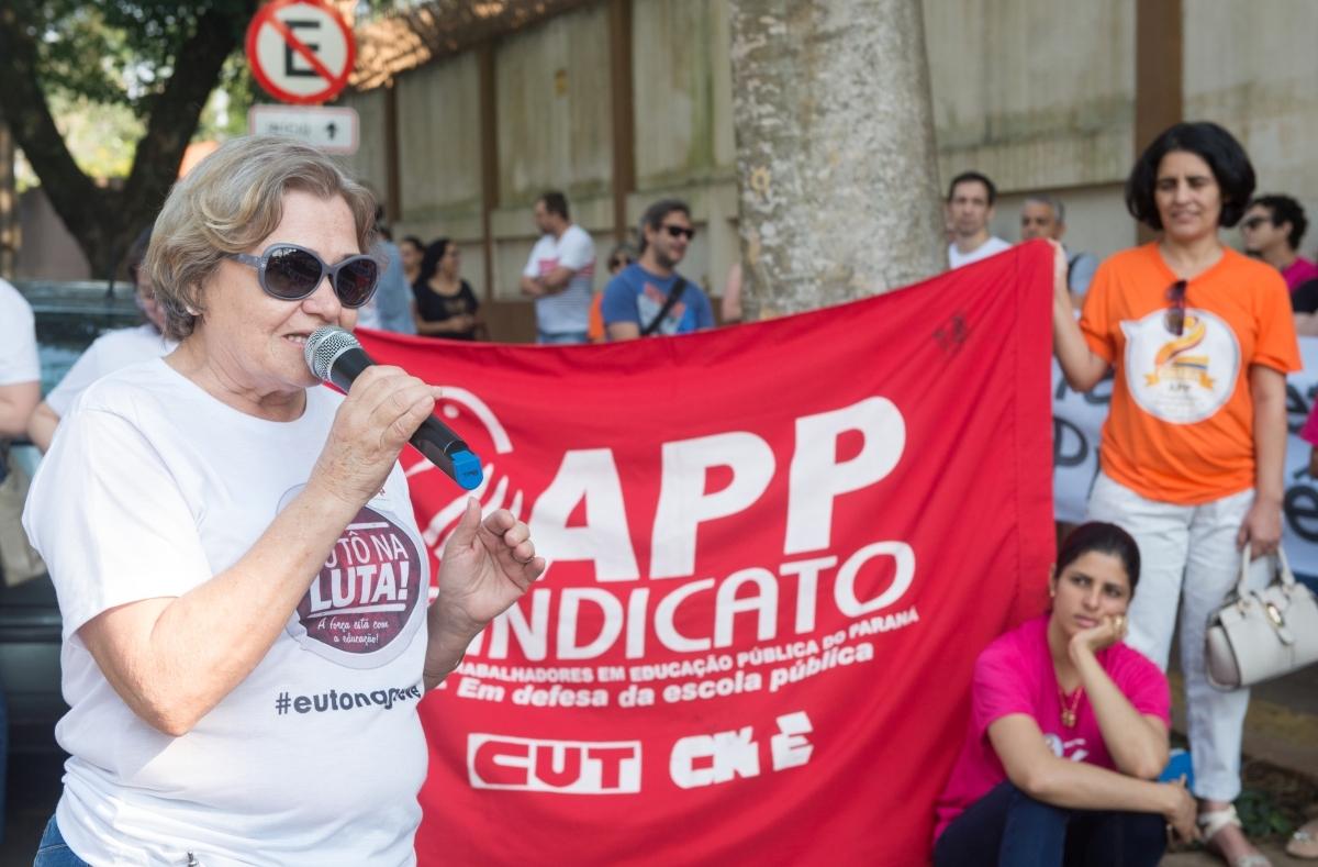 """Madalena Ames: """"Levar atividades para casa é trabalho não remunerado"""" - foto Marcos Labanca"""