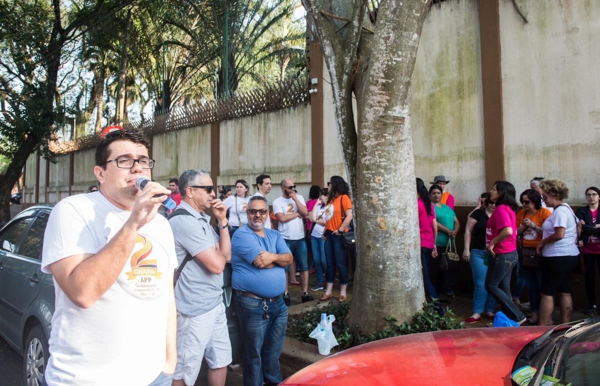 """Silvio Borges: """"Medidas do governo causaram desemprego e adoecimento dos educadores"""" - foto Marcos Labanca"""
