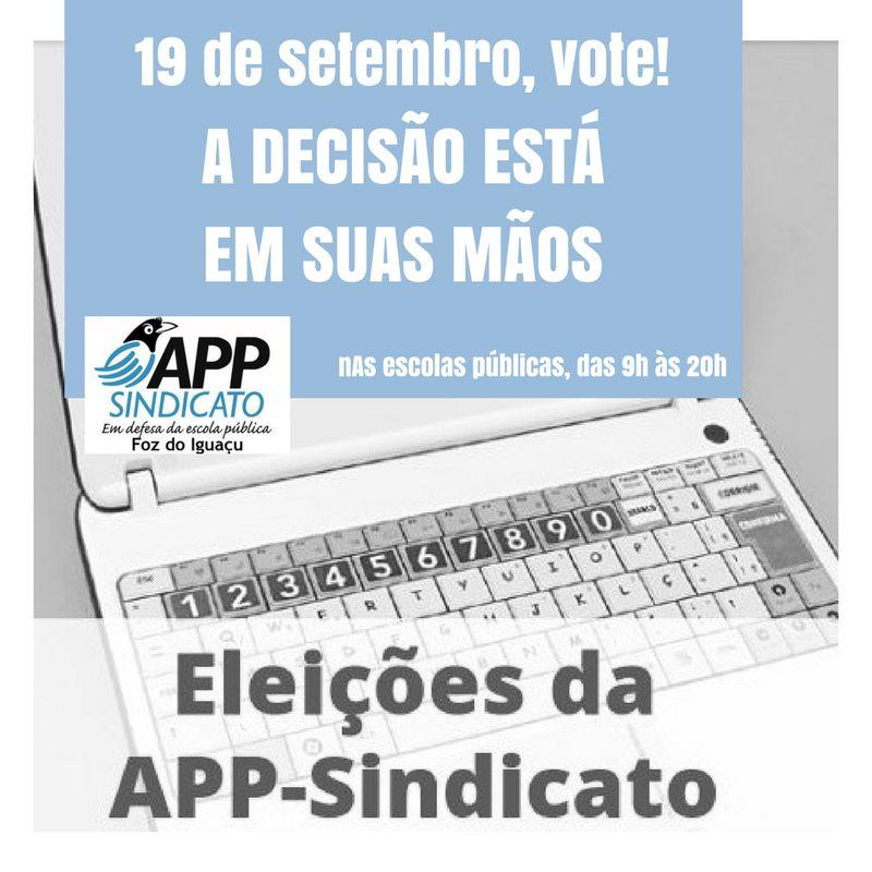 19 de setembro vote