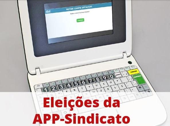 Eleições da APP-Sindicato acontecem dia 19; confira as instruções para votar