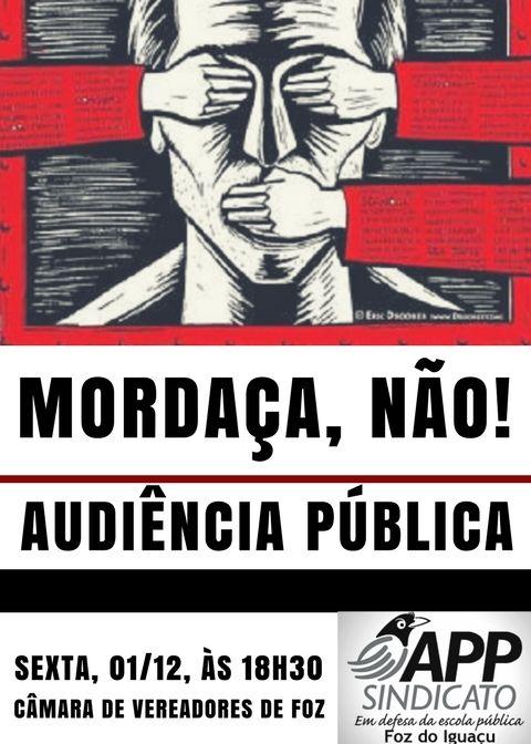 Audiência Mordaça