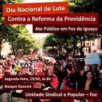 dia luta contra a reforma da previdência