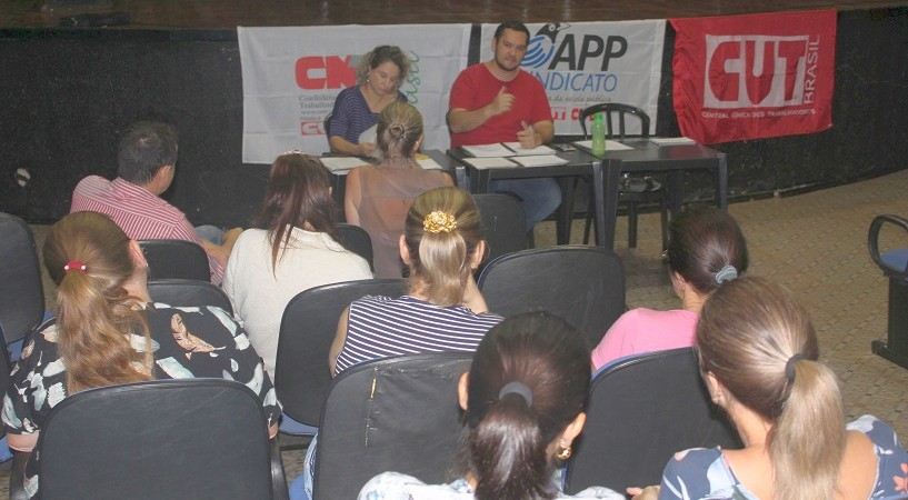 Educadores/as de Itaipulândia elegem Direção Municipal e definem mobilização
