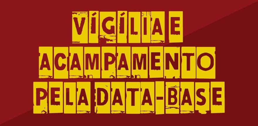 Acampamento pela Data-Base: mobilização no Palácio Iguaçu começa segunda