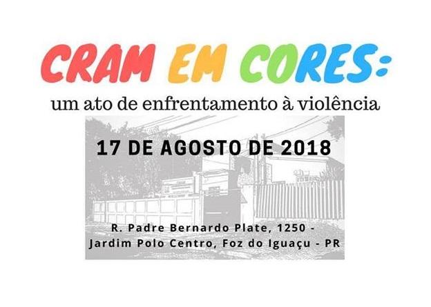 CRAM em cores: contra a violência, em defesa da vida da mulher