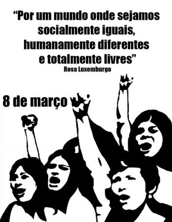 Dia Internacional da Mulher em Foz do Iguaçu