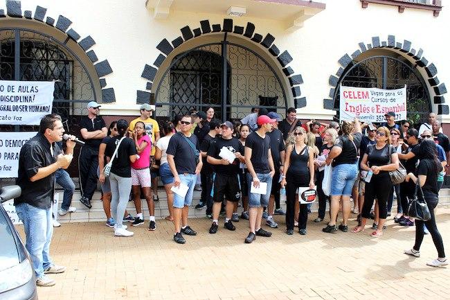 Protesto professores