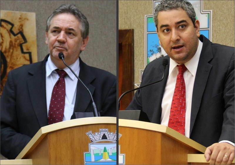 Dilto Vitorassi (PV) e Fernando Duso (PT) - foto CMFI