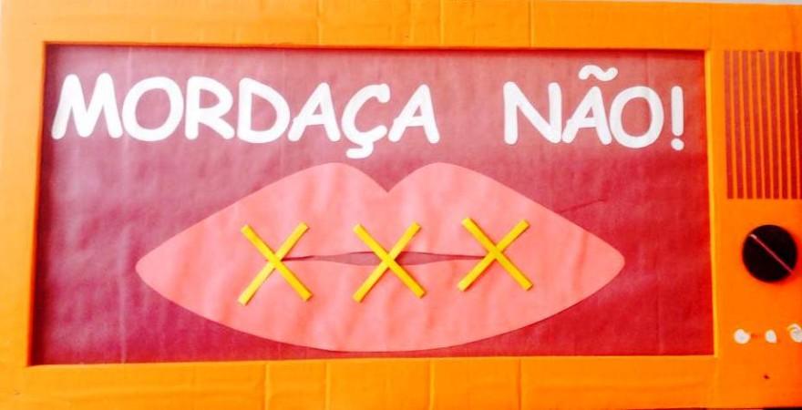Mordaça é considerada inconstitucional pelo STF - foto Reprodução