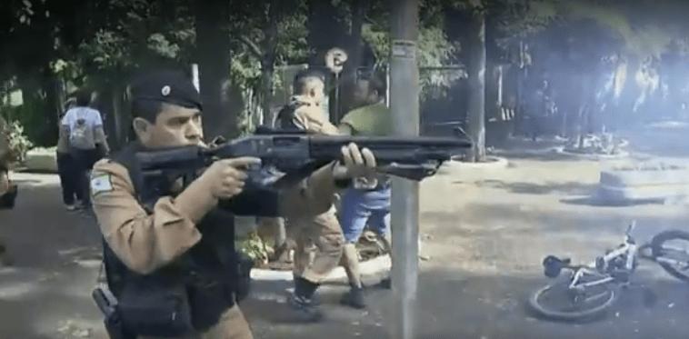 APP-Sindicato/Foz repudia ação policial contra manifestantes no Bosque Guarani